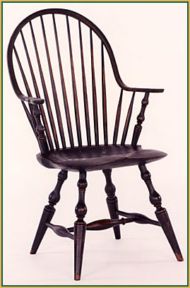 Continous-Arm Windsor Chair from Richard Grell