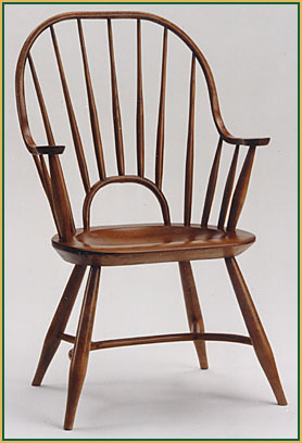 Continuous-Arm_with_Small-Bow Windsor Chair from Richard Grell