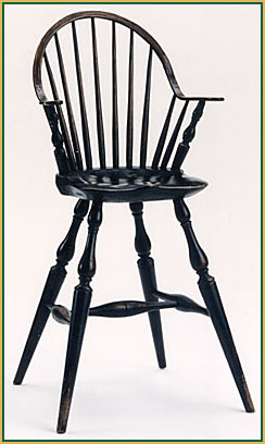 Continuous-arm_Youth-Chair Windsor Chair from Richard Grell