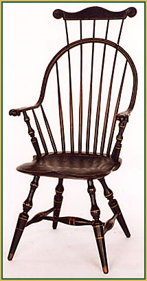 Continuous-arm_with-a_Comb Windsor Chair from Richard Grell