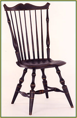 Cupids-bow Windsor Chair from Richard Grell