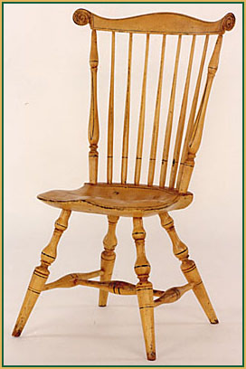 Fan-back Windsor Chair from Richard Grell Windsor Chair from Richard Grell