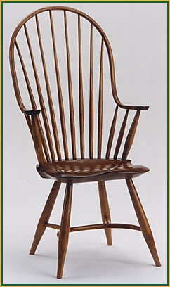 High-back_Continuous-arm Windsor Chair from Richard Grell