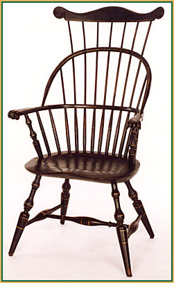 Hoop-back_with-a_Comb Windsor Chair from Richard Grell